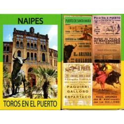 TOROS EN EL PUERTO - Baraja...