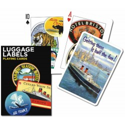 LUGGAGE LABELS, 55 cards