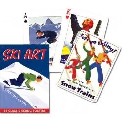 SKI ART, 55 cartas