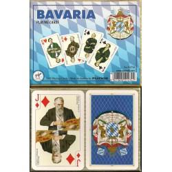 BAVARIA, 2 barajas de bridge