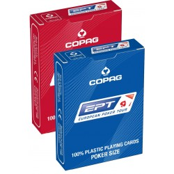 COPAG EPT - 100% Plastic Poker