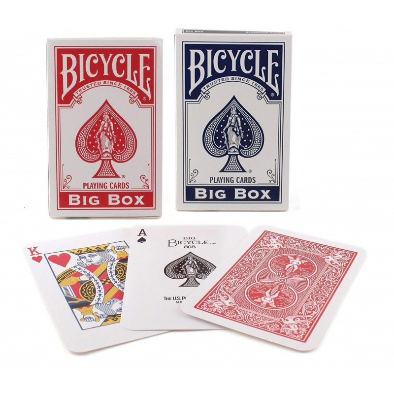 Bicycle Big Box poker gigante