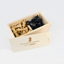 Piezas Ajedrez de madera...