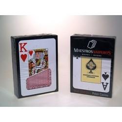 Poker modelo OSO - 55 cartas
